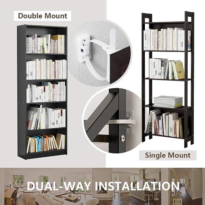 Amazon.com: Tiras para muebles (10 unidades) Kit de anclajes ...