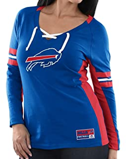 2d5f72fe1 Amazon.com   New Era Buffalo Bills Women s Long Sleeve Tri-Blend ...