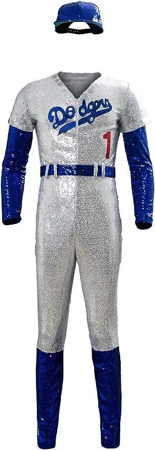 Disfraz De Pelicula para Hombre Uniforme De Beisbol Cosplay Elton ...