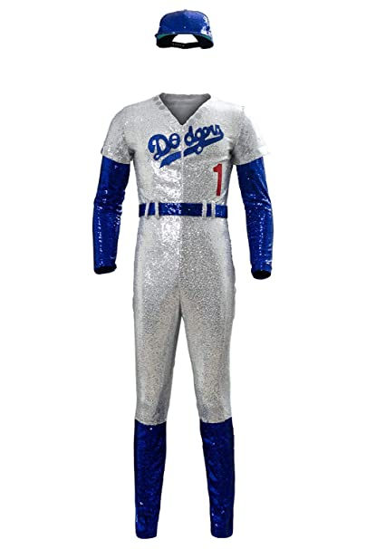 COSMOVIE Elton John Halloween Cosplay Costume Baseball Uniform Full Set