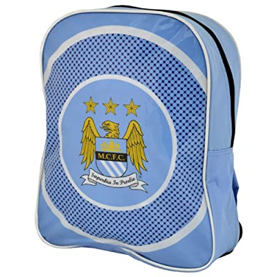 well-wreapped Manchester City F.C. Manchester City Fc Bullseye Kids Backpack