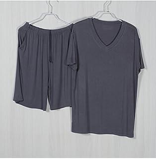 Beancan Pajamas for Me Mens Pajam Modals Modal Nightwear Men Sleepwear Set Mens Pyjama Sets Short