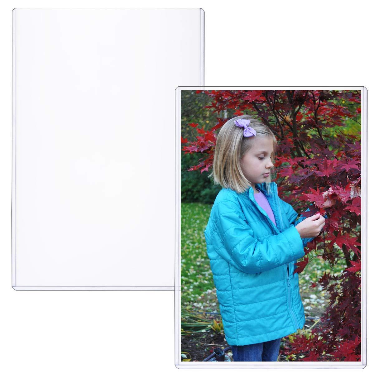 StoreSMART - Rigid Print Protectors 50-Pack - 6'' x 9'' - Top Loaders - HPP6X9-50