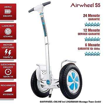 Patinete Eléctrico/S de monociclo airwheel S5. Batería 680 ...