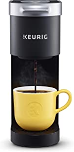 Keurig K-Mini Coffee Maker, Single Serve K-Cup Pod Coffee Brewer, 6
