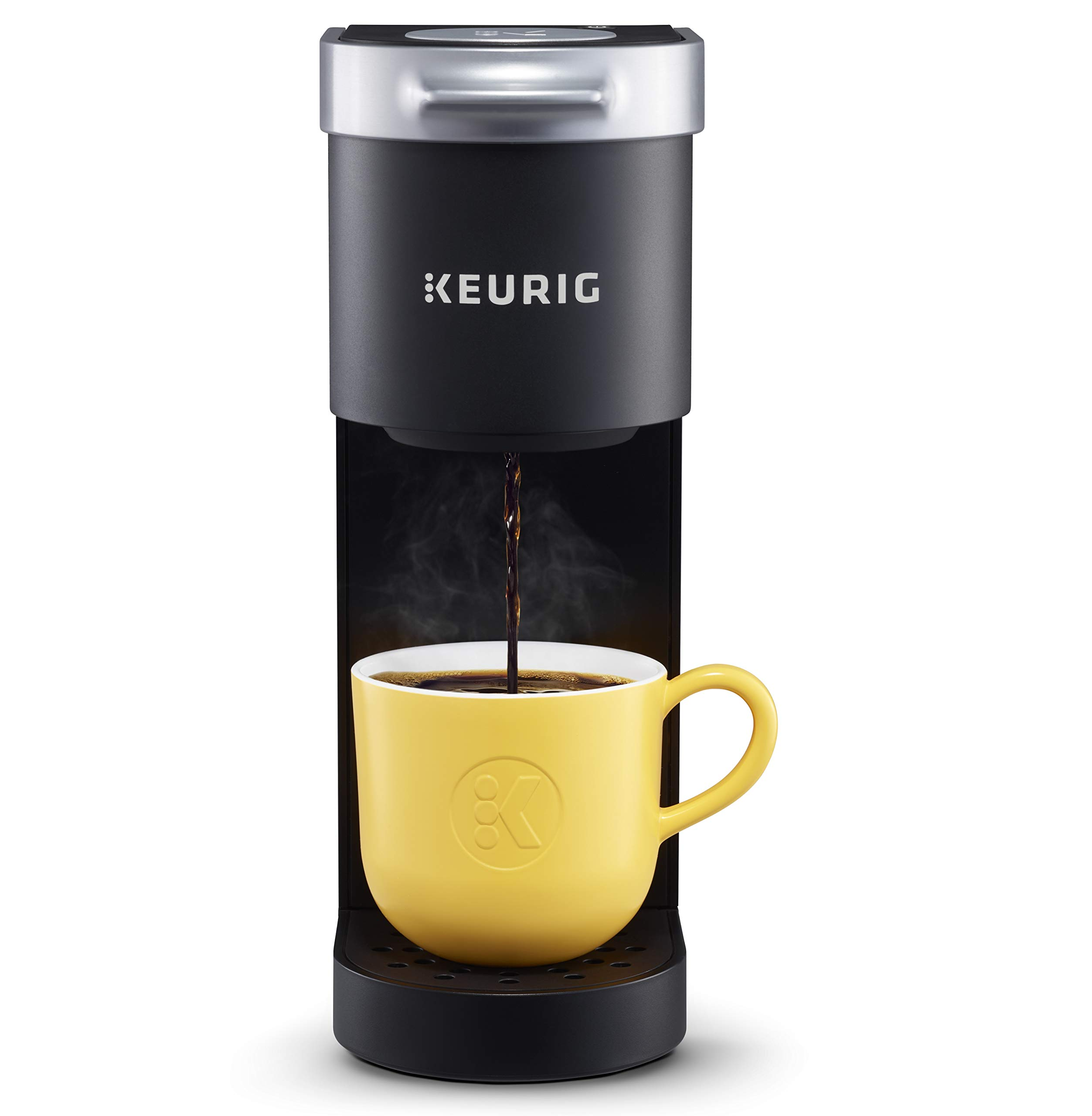Keurig K-Mini Basic Coffee Maker, Single Serve K-Cup Pod Coffee Brewer, 6 To 12 Oz. Brew Sizes, Matte Black by Keurig