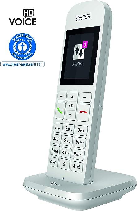 Telekom Speedphone 12 – Teléfono Fijo inalámbrico, para Uso con routers Actuales con Interfaz DECT-Cat-iq (por Ejemplo, Speedport, Fritzbox), Pantalla ...