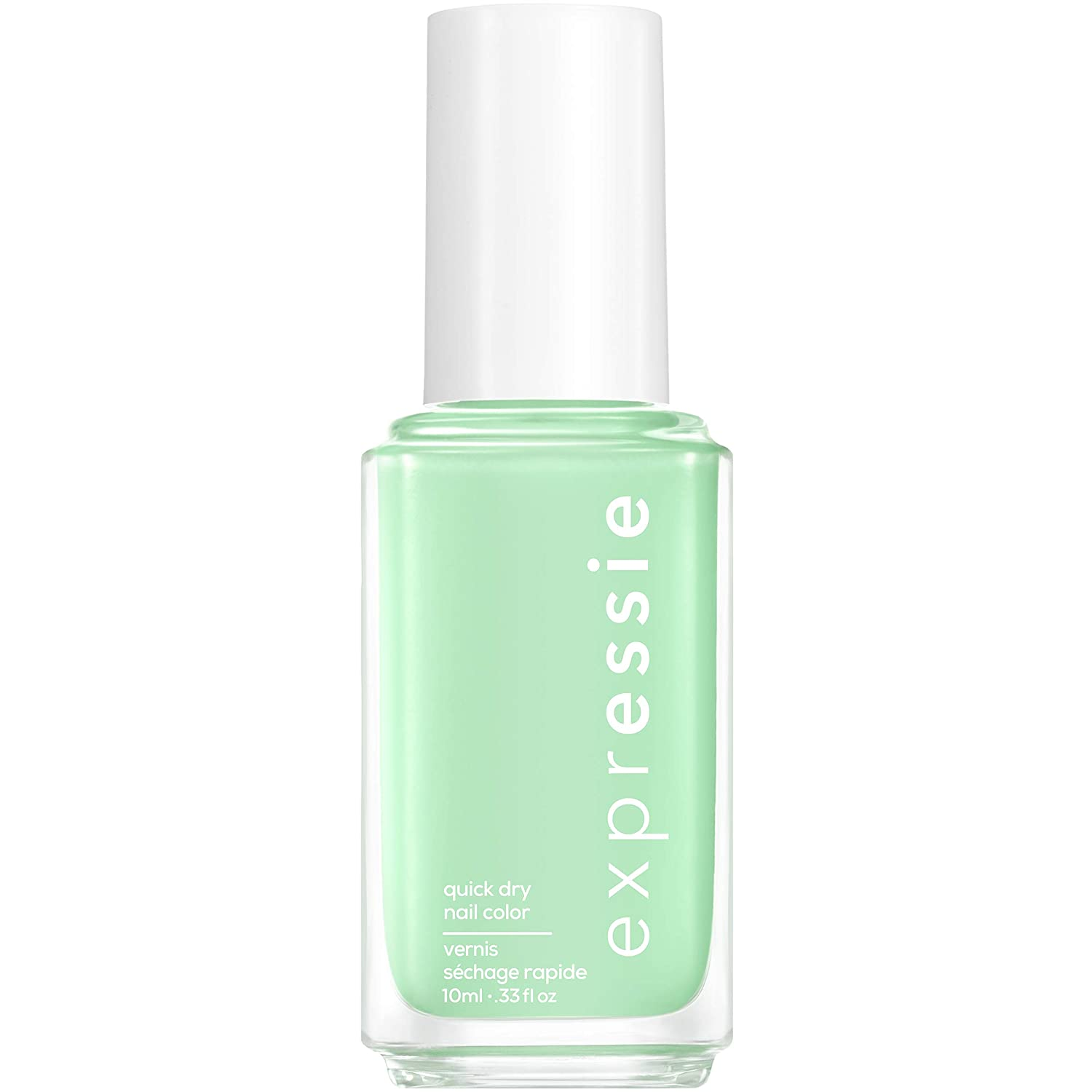 essie expressie Quick-Dry Nail Polish, Mint Green 310 Express To Impress, 0.33 Ounces