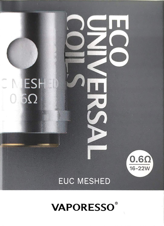 Genuine Vaporesso EUC Mesh Coils - 5 Pack [0.6ohm]