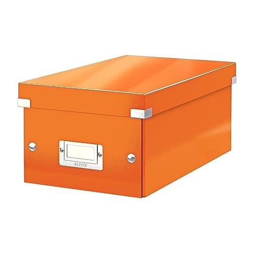 45 opinioni per Leitz Click and Store 60420044, Scatola archivio DVD, Arancione