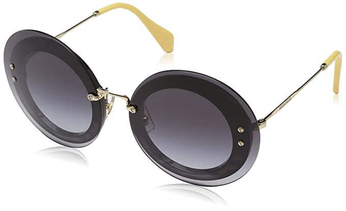 9e3a94d31e Miu Miu Women s 0MU10RS U6E5D1 64 Sunglasses