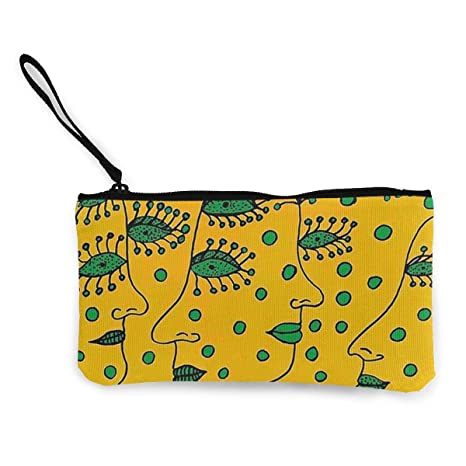 Amazon.com: YJMHstore Avant Garde Art Women Faces Portable ...