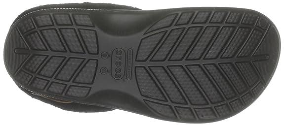 Crocs Bltzn Polar, Sabots mixte adulte, Noir (Black/Black), 36-37 EU (M4/W6)