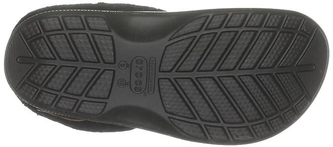 Blitzen Polar 10638-060-160, Unisex - Erwachsene Clogs & Pantoletten, Schwarz (Black/Black 60), EU 36/37 Crocs