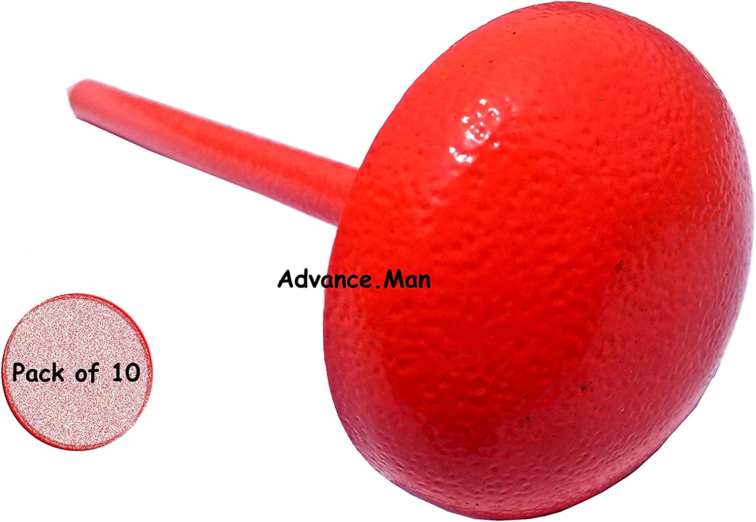 Advance.Man Engineering Survey Marker - 10 Pack in Orange Color