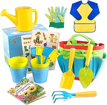 INNOCHEER STEM Learning Gardening Tools
