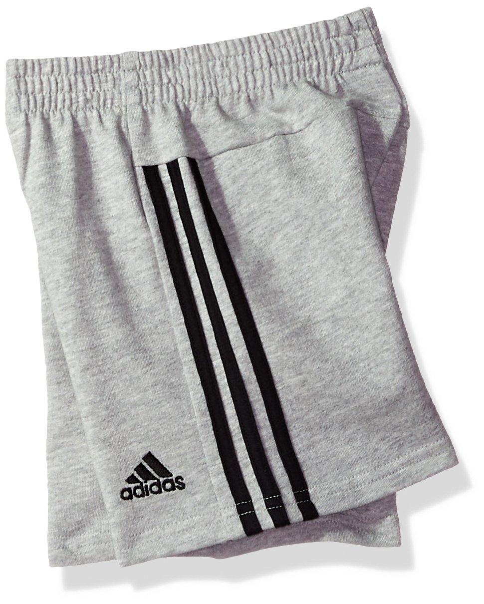 adidas Baby Boys Short Sleeve Tee and Short Set, Black Adi, 18M by adidas (Image #2)