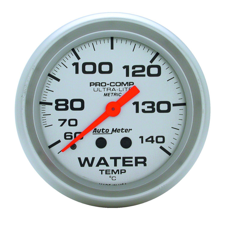 Auto Meter 4431M Water Temperature Gauge by Auto Meter (Image #1)