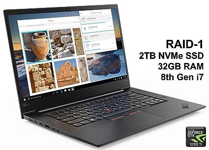 Amazon com: LA ThinkPad X1 Extreme (with RAID-1) Business