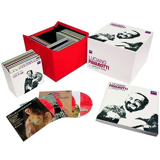 Grabaciones Óperas Completas: Luciano Pavarotti, Varios: Amazon.es ...
