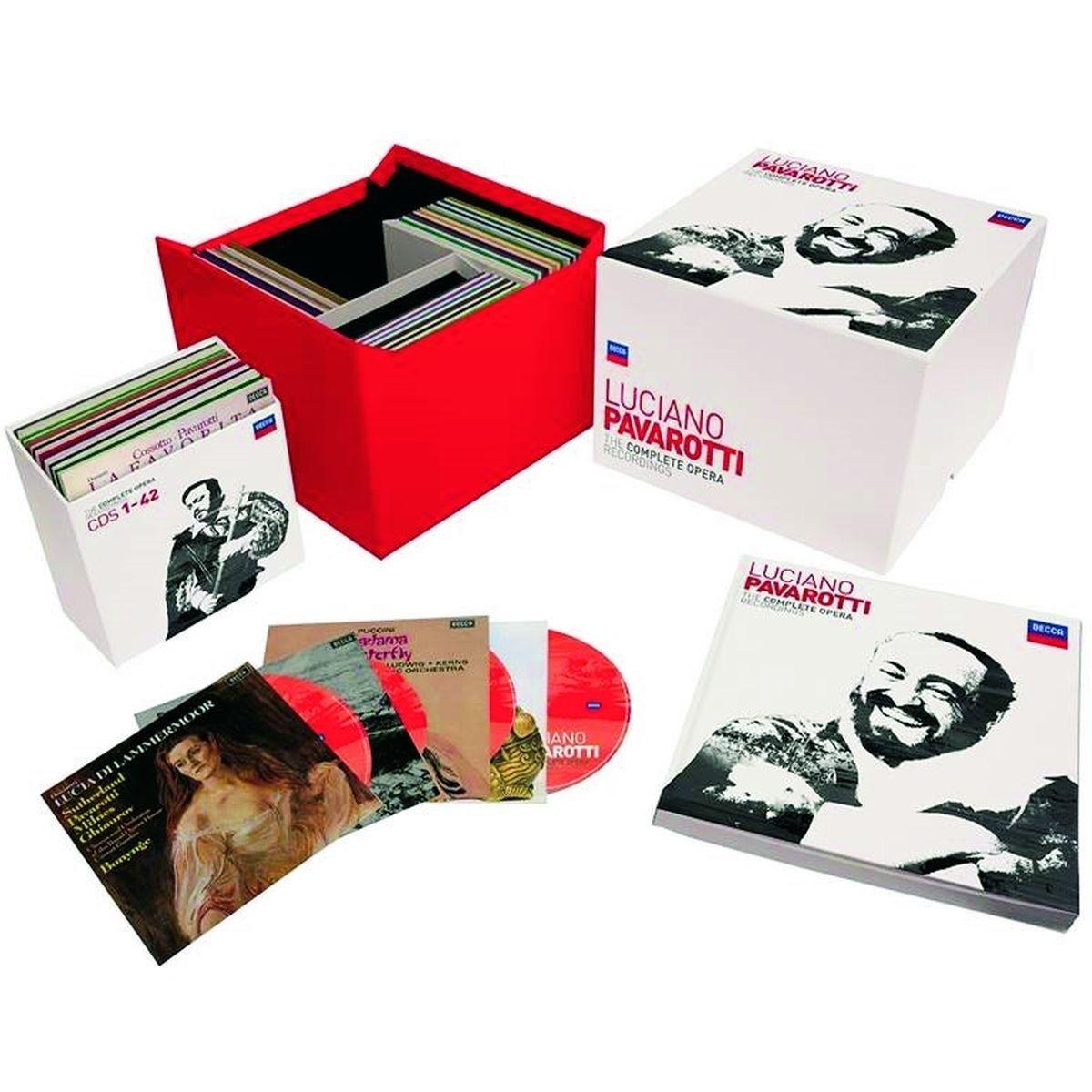 CD : Luciano Pavarotti - Complete Operas (Boxed Set, 101PC)