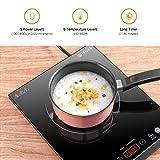 Portable Induction Cooktop, iSiLER 1800W Sensor