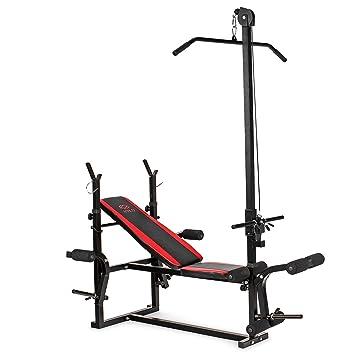 Banco de pesas banco de entrenamiento multi banco de fitness estación de 500 dumbbellobject: Amazon.es: Deportes y aire libre