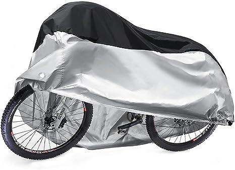 Diealles Funda Bicicleta, 190T Funda Bici Impermeable Exterior con ...
