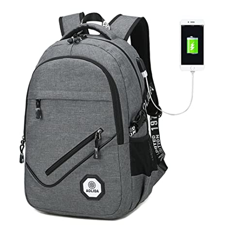 Laptop Backpack, Computer Backpacks for Laptops, Anti Theft Lightweight  Travel Backpack, College Students 917d59778d