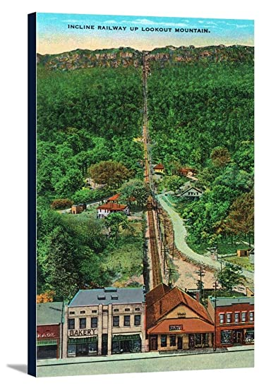 Amazon.com: Chattanooga, Tennessee - View of the Incline Railway all ...