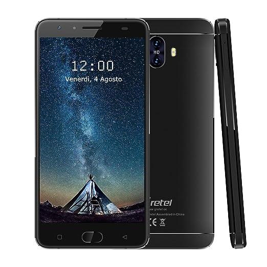 """2 opinioni per Gretel-GT6000 Smartphone 5.5"""" 4G 6000mAh Batteria 9V/2A Quick Charge Schermo IPS"""