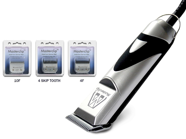 Haarschneidemaschine Hundeschermaschine für Shih Tzu mit 3 Deutsch Stahl A5 Klingen