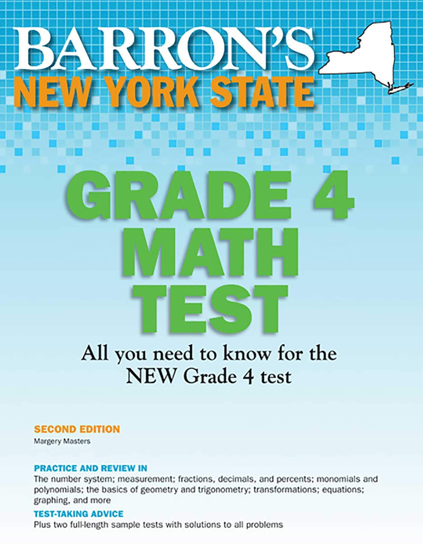 Download New York State Grade 4 Math Test (Barron's New York State Grade 4 Math Test) pdf
