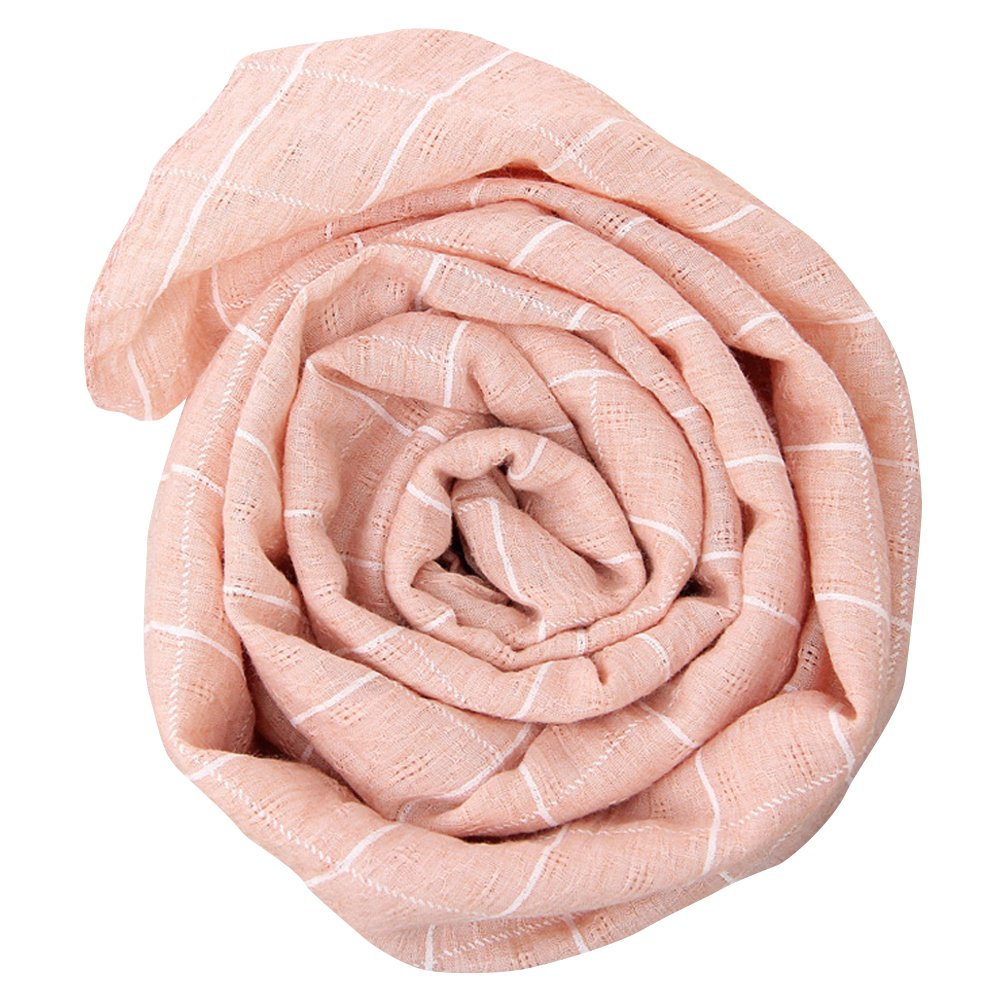 Girls Kids Flowers Grids Print Warm Autumn Winter Wraps Stole Soft Scarf