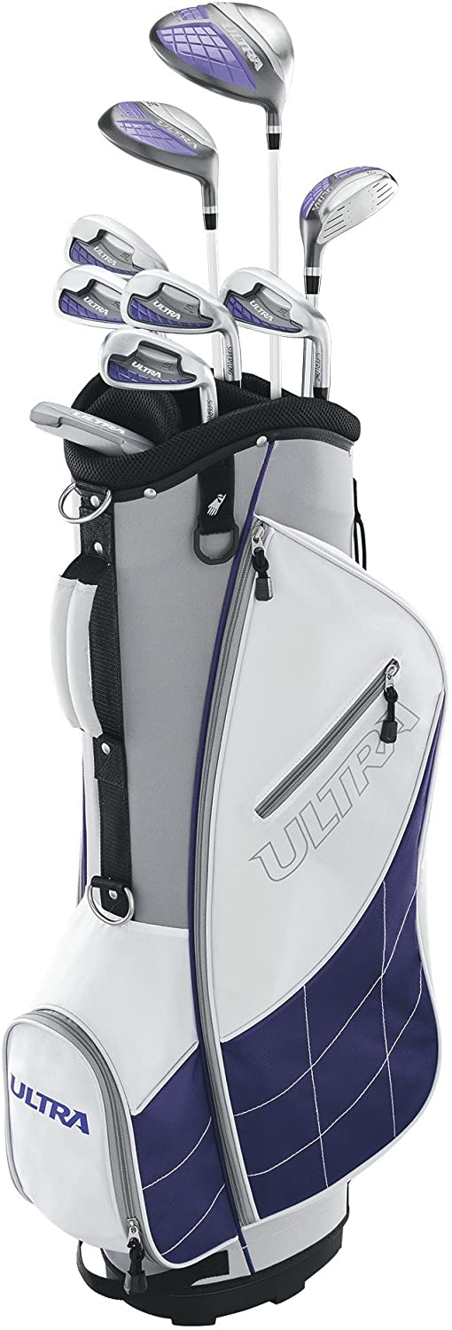 Wilson Golf Women's Ultra Package Set, Right Hand, White