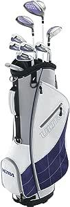 Wilson Golf Ultra - Juego de Accesorios para Mujer (Mano Derecha), Color Blanco