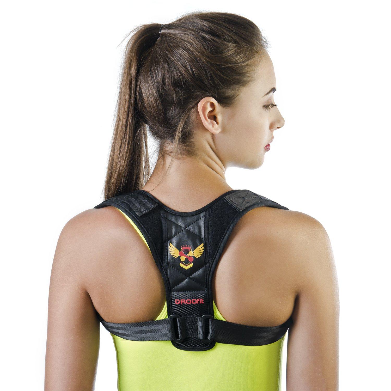 Posture Corrector for Women Men - Back Brace| Effective and Comfortable Adjustable Back Brace for Posture - Posture Brace - Clavicle Brace - Upper Back Pain Relief - Posture Support - Posture trainer