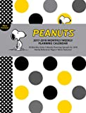 Peanuts 2017-2018 Monthly/Weekly Planning Calendar