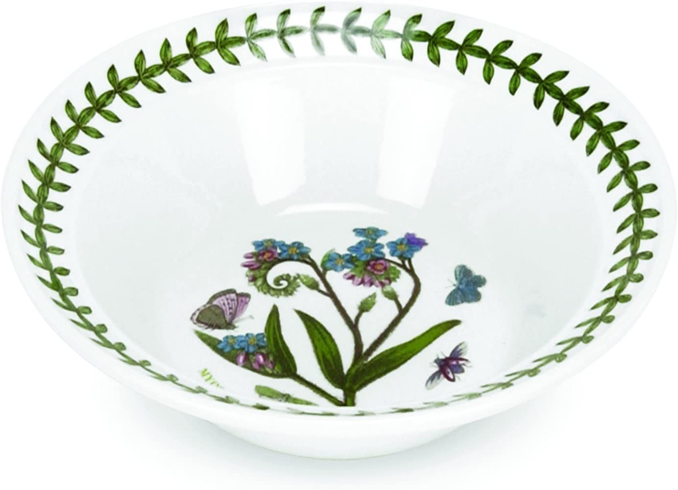 "Portmeirion Botanic Garden Soup/Cereal Bowl 6 "", Set Of 6 Assorted"
