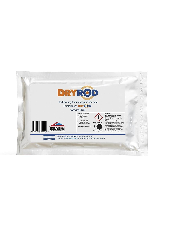 Ad alte prestazioni Dryrod Horrizontalsperre - (DPC), Pacchetto di 10 bastoncini di 18 cm di lunghezza Safeguard Europe