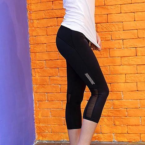 WYFC Mujer Pantalones de Running Secado rápido Transpirable ...