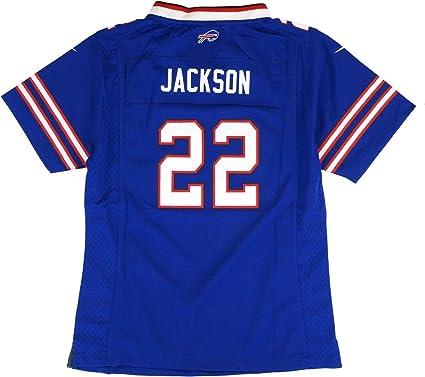 Nike Fred Jackson Buffalo Bills Home Blue Jersey Girls Youth (S-XL ...