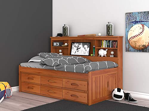 Discovery World Furniture Twin Daybed Bookcase
