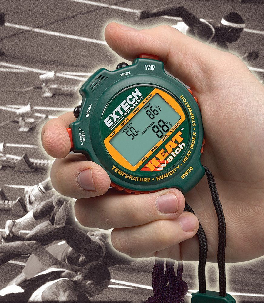 Extech HW30 Humidity/Thermometer/Heat Index Stopwatch