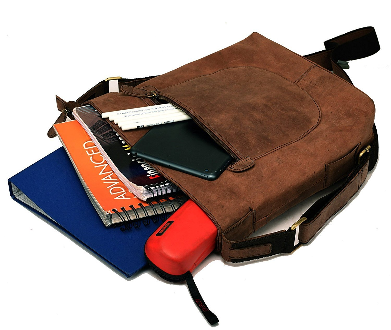 DH Genuine Soft Buffalo Leather Tote Bag Elegant Shopper Shoulder BagSALE by Devil Hunter (Image #7)