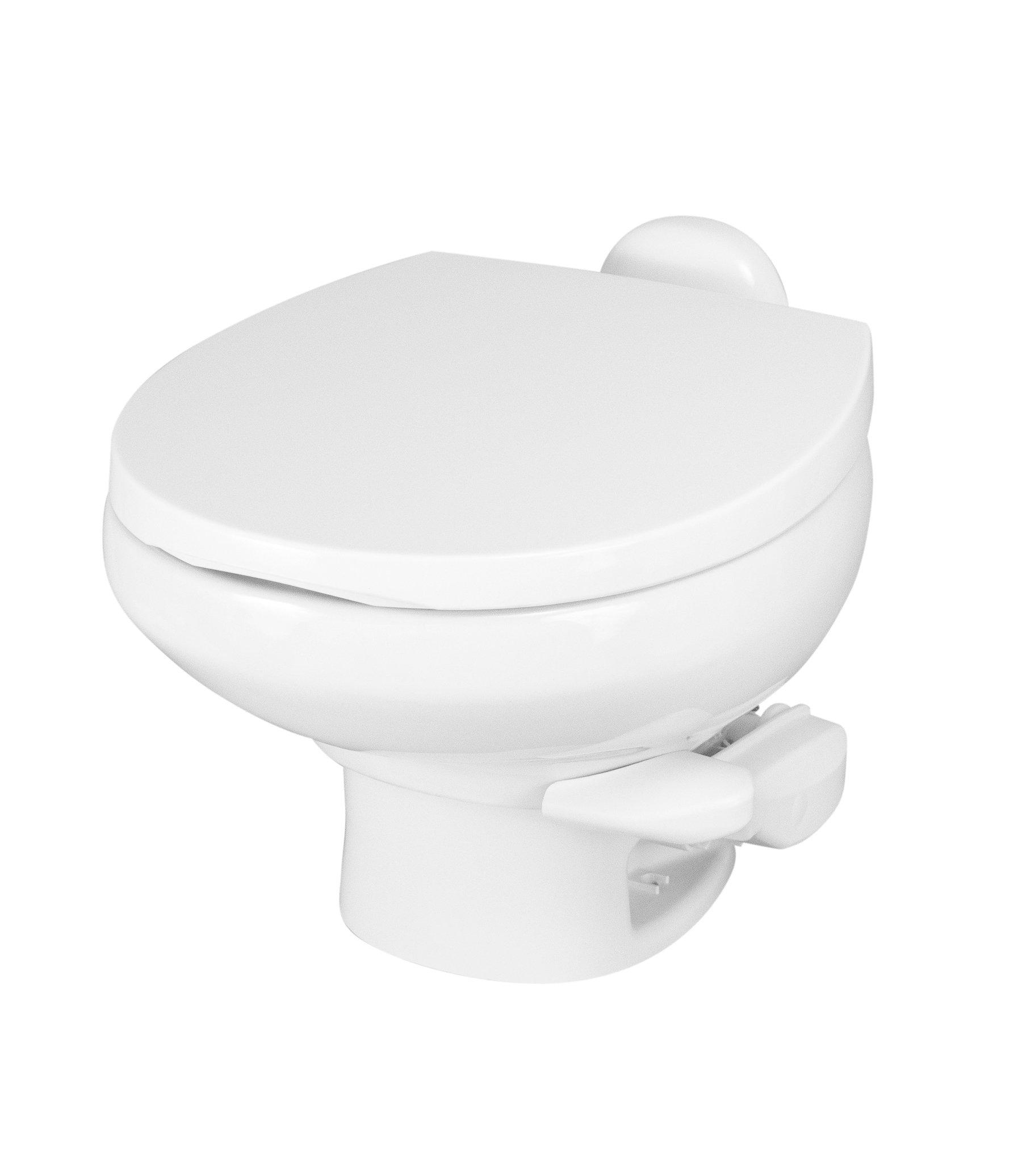 Aqua Magic Style II RV Toilet  / Low Profile / White - Thetford 42059