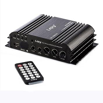 LEPY lp-168 Plus 45 Wx2 + 68 W Amplificador Estéreo USB Bluetooth 2.1 ch