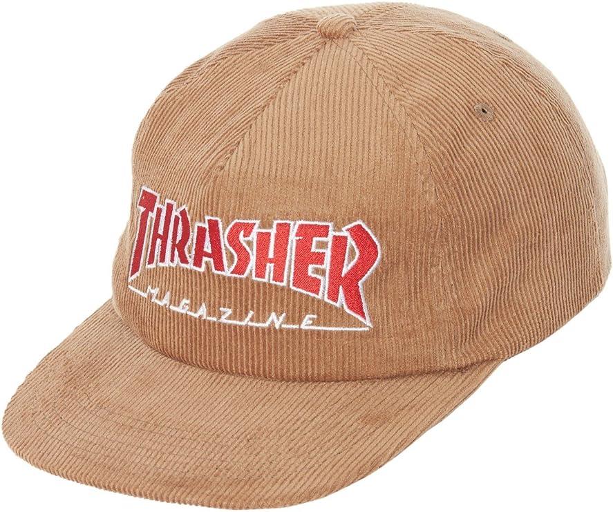 Gorro Snapback Thrasher Logo Corduroy Oro (Default, Oro): Amazon ...