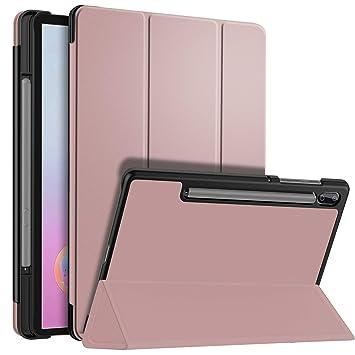 ELTD Funda Carcasa para Samsung Galaxy Tab S6 SM-T860/T865, Ultra Delgado Stand Función Smart Fundas Duras Cover Case para Samsung Tab S6 10.5 ...