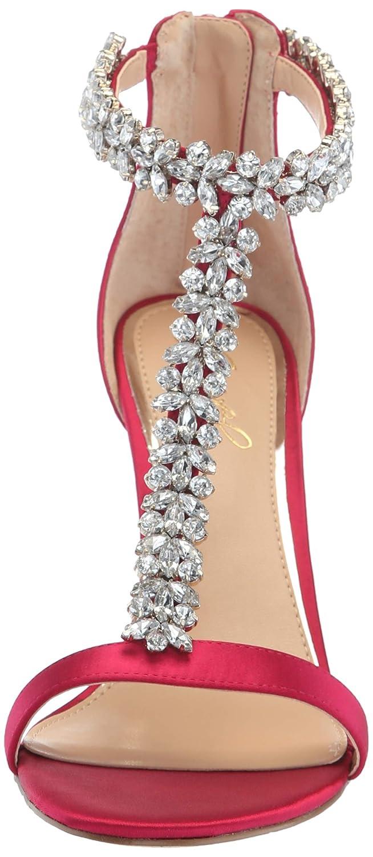 Jewel by Badgley Mischka Womens Janna Heeled Sandal